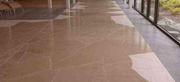 suelo de marmol