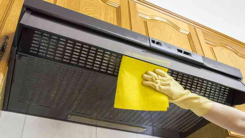 cómo limpiar una campana extractora