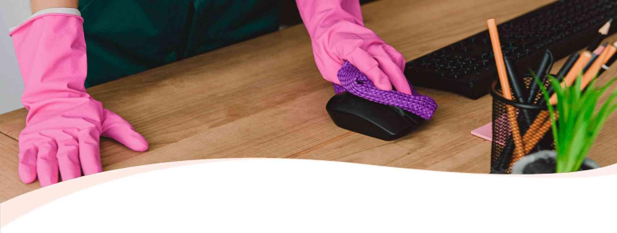 limpiando mouse