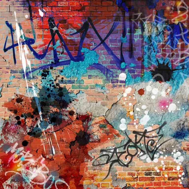cómo limpiar una pared con graffitis