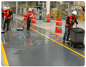 Limpieza Industrial en Palomas