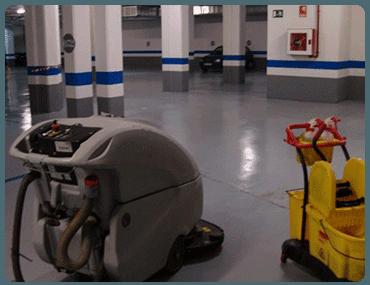 Limpieza de Garajes y Parkings en Barrio del Pilar