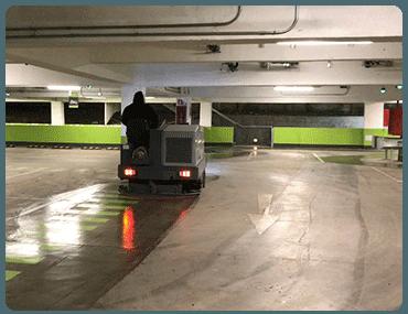 Limpieza de Garajes y Parkings en Guindalera