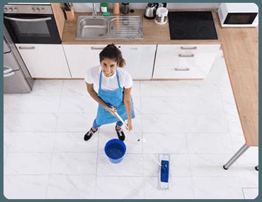 Limpieza de casas en Nueva España