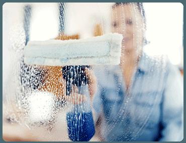 Limpieza de cristales en altura en Canillejas