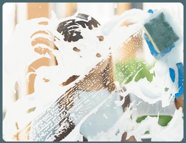 Limpieza de cristales en altura en Las Vistillas