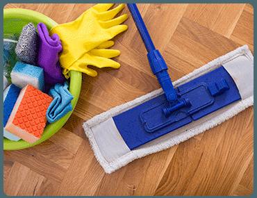 Limpieza de pisos en Cuatro Caminos