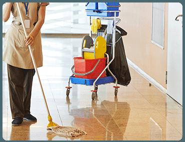 Limpieza de pisos en El Espinillo