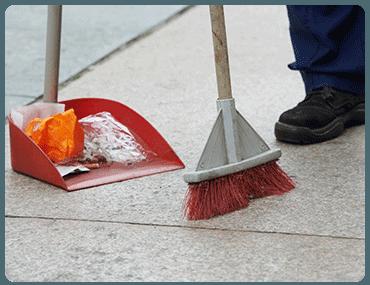 Limpieza de pisos en Nueva España