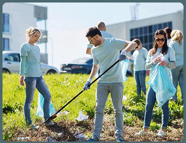 Limpieza de Comunidades en Campo Real