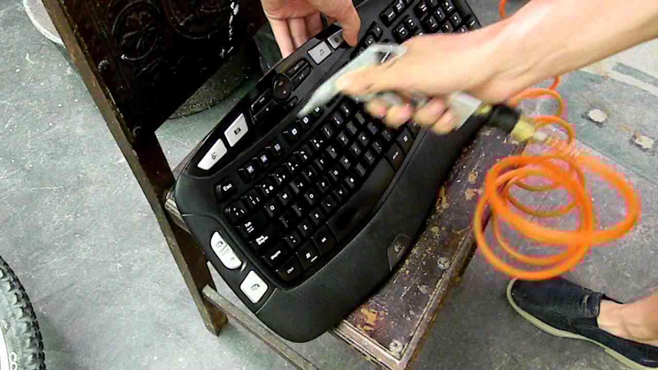 cómo limpiar el teclado del pc