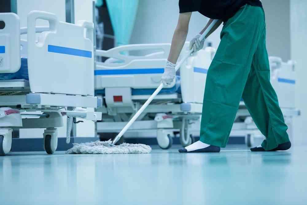 Limpieza con ozono para clínicas