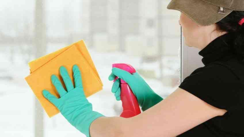 Cómo limpiar una bayeta