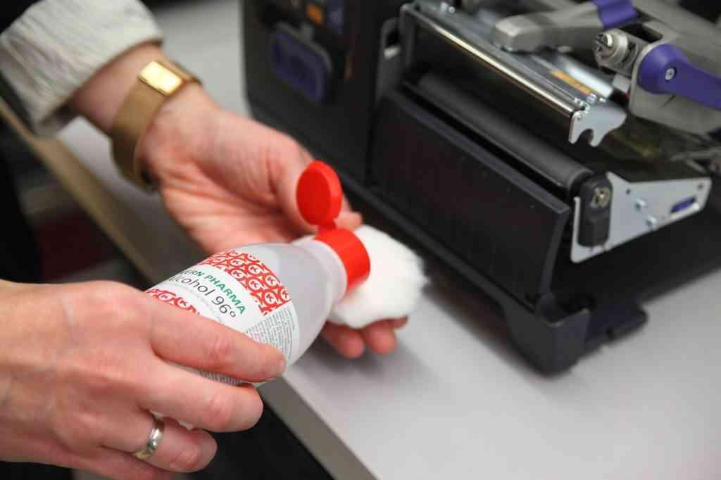 cómo limpiar una impresora