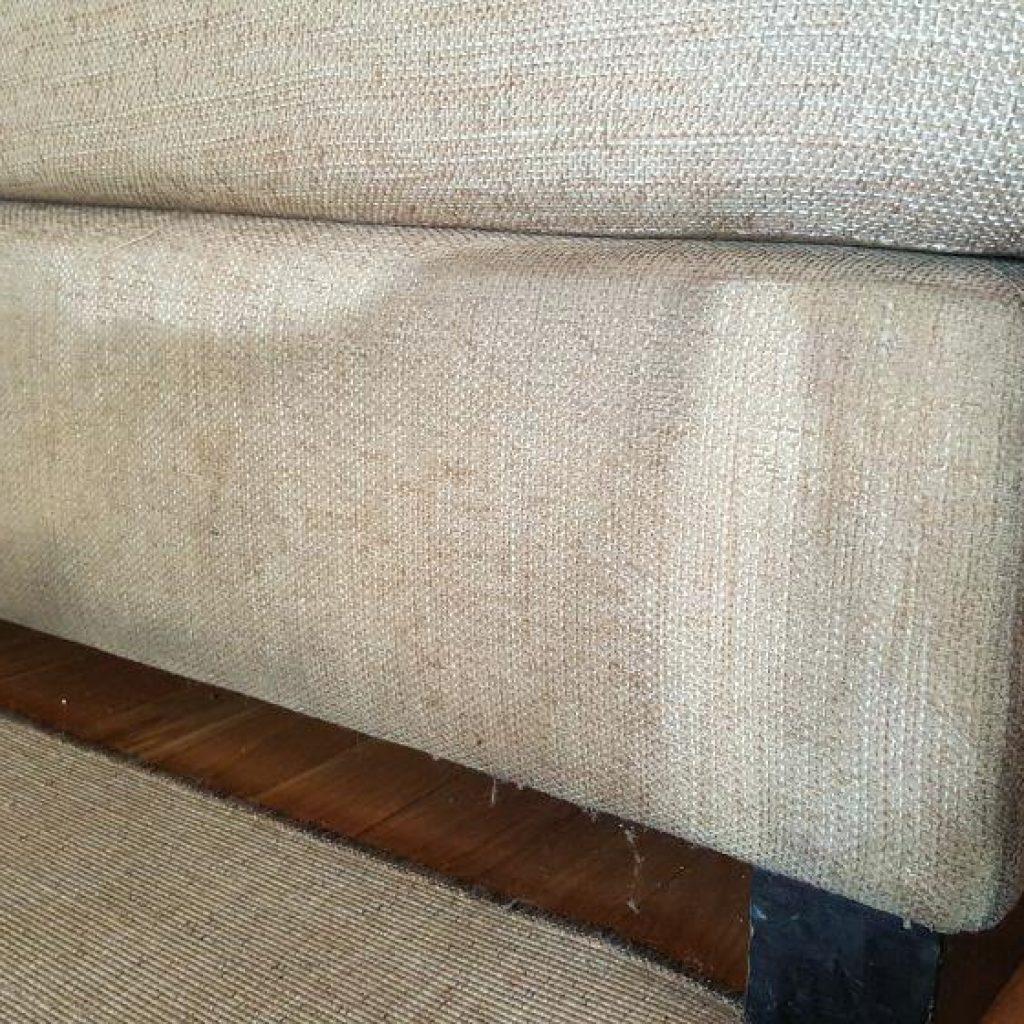 Cómo limpiar sofá de tela muy sucio