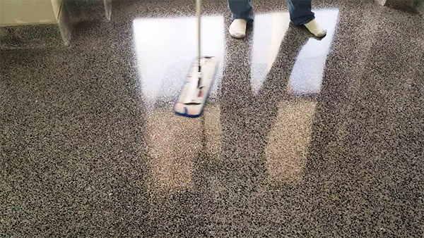 Limpiar terrazo