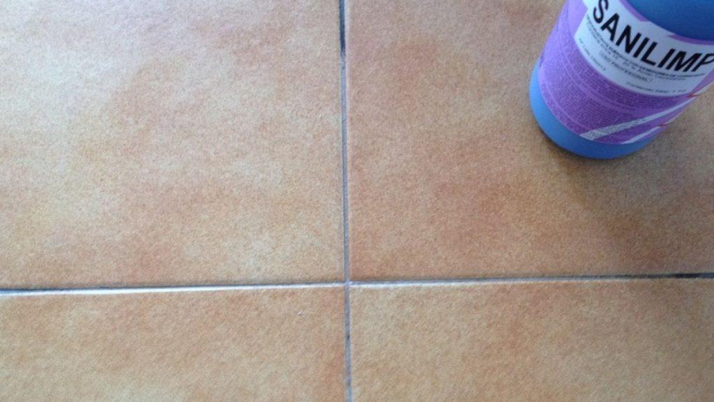 Limpiar juntas del suelo