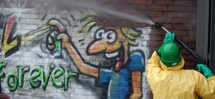 Limpiar grafiti