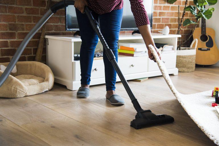 Cómo limpiar la tarima