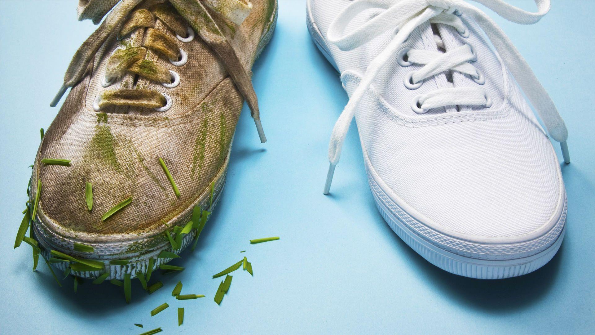 Cómo limpiar zapatillas de tela