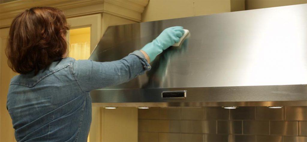 Cómo limpiar campanas de acero inoxidable